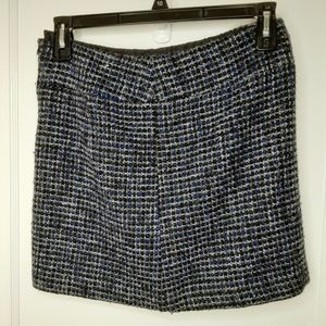 Dalia Collection Black, Grey, and Blue Skirt-6